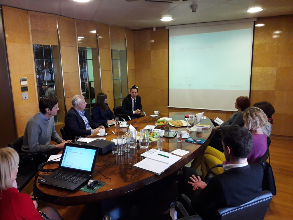 1. srečanje usmerjevalnega odbora projekta EcoLexLIFE