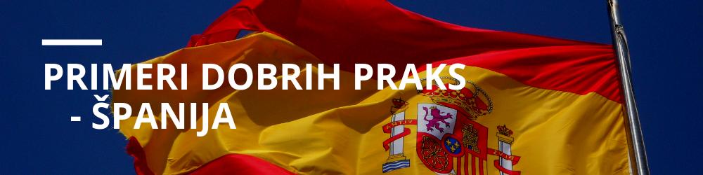 Primeri dobrih praks – ŠPANIJA